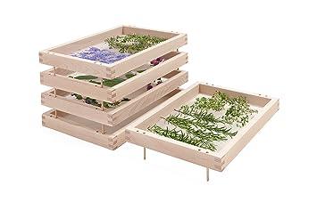 Casiers Superposes Pour Le Sechage Des Plantes Des Herbes