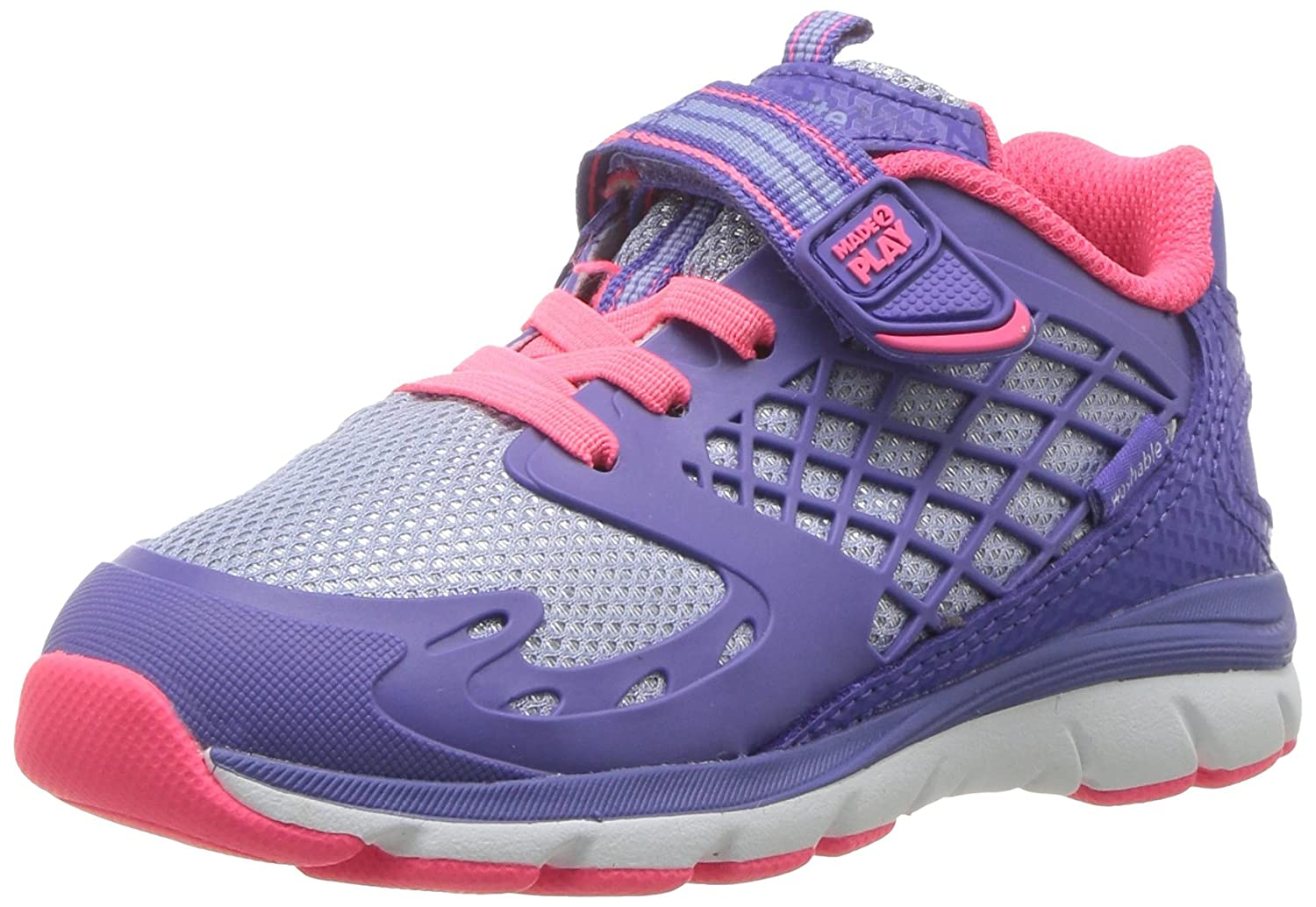 Stride Rite Kids' Made 2 Play Cannan Sneaker -