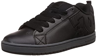 852095b67a113 DC Shoes Mens Court Graffik SE Leather Trainers