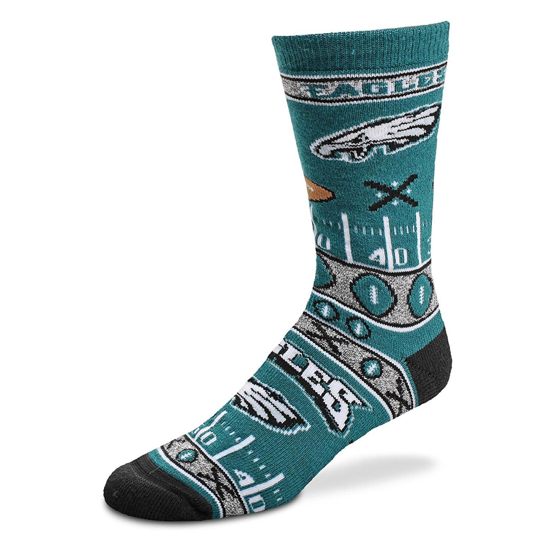 Philadelphia Eagles For Bare Feet Super Fan Socks
