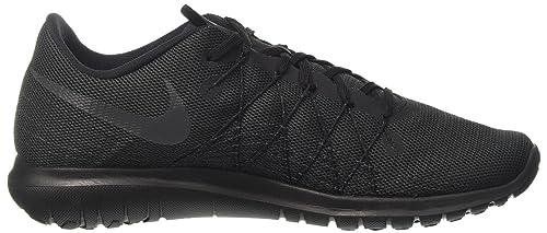 Nike Flex Fury 2, Chaussures de Running Homme, Multicolore (Black/Anthracite/Black), 42 EU