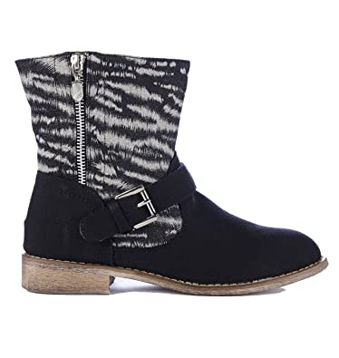 Women's Shoes Brand New Beige Canvas Ankle Boots Size 7 Clothing, Shoes & Accessories