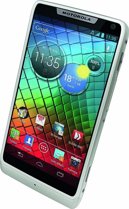 Motorola Razr I Smartphone 4 3 Zoll Weiß Elektronik