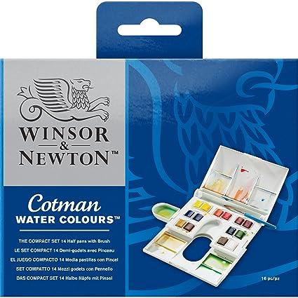 amazon com winsor newton cotman water colour paint compact set