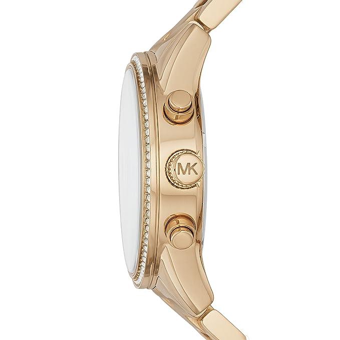 8ea7a9b85664 Amazon.com  Michael Kors Women s Ritz Gold-Tone Watch MK6356  Michael Kors   Watches