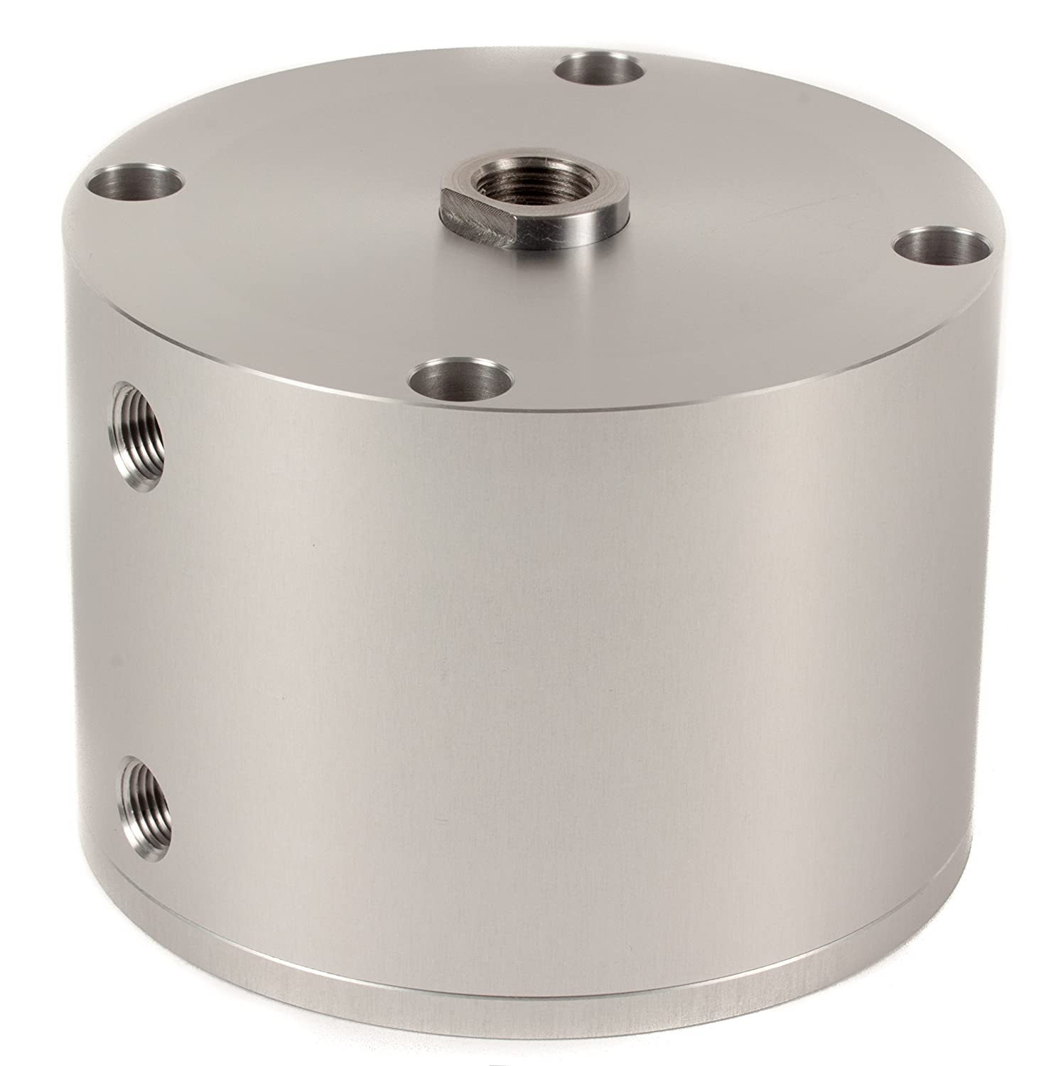 Fabco-Air D-521-X Original Pancake Cylinder, Double Acting, Maximum Pressure of 250 PSI, 2-1/2' Bore Diameter x 1-1/2' Stroke 2-1/2 Bore Diameter x 1-1/2 Stroke FAB   D-521-X