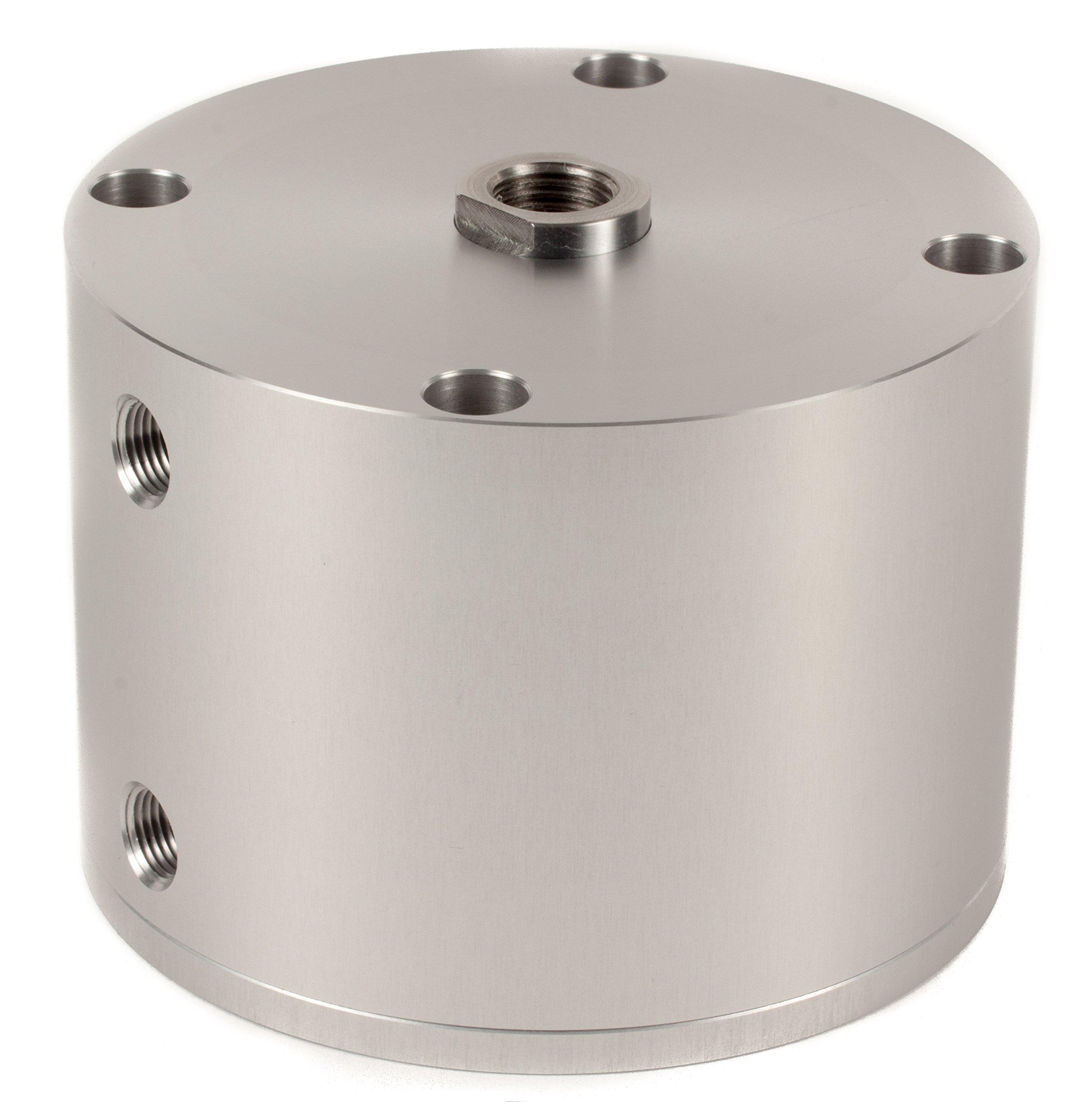 Fabco-Air D-521-X Original Pancake Cylinder, Double Acting, Maximum Pressure of 250 PSI, 2-1/2'' Bore Diameter x 1-1/2'' Stroke