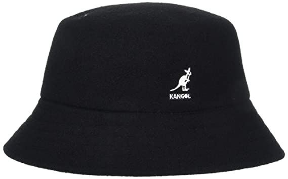 Kangol Mens Wool Lahinch Bucket Hat, Black, ...