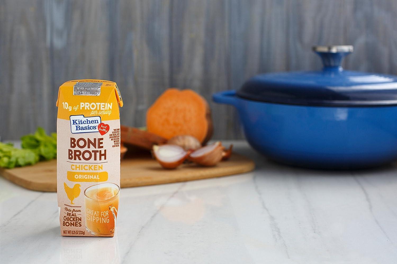 Kitchen Basics Chicken Bone Broth, 8 25 fl oz (Pack of 12)