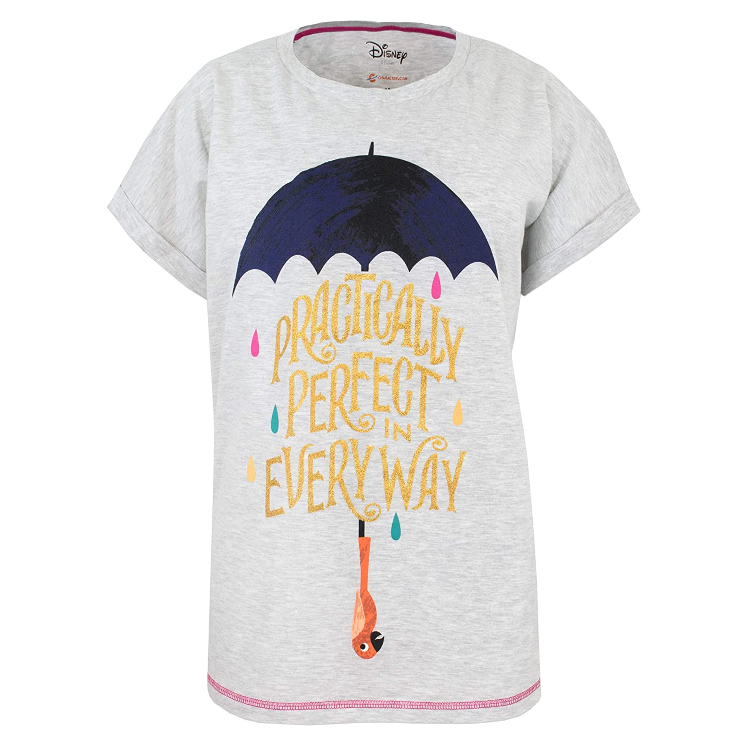 Disney Damen Mary Poppins Schlafanzug