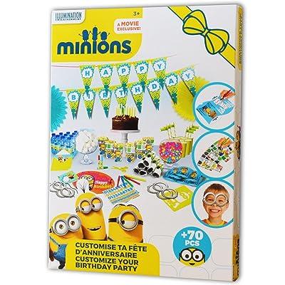 Les minions customise ta fete d'anniversaire