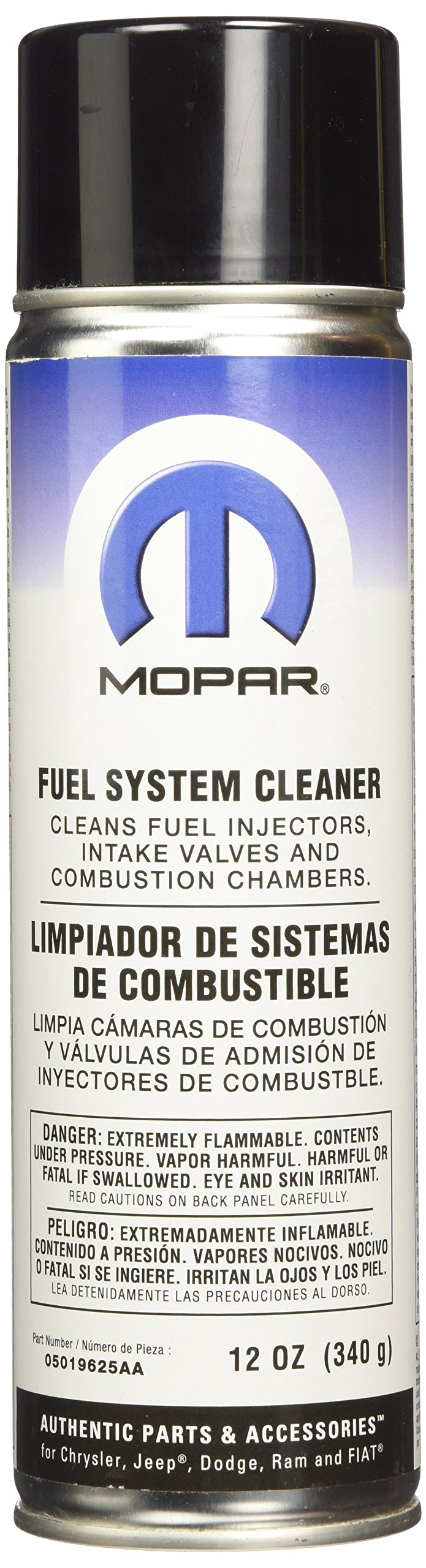 Genuine Chrysler Accessories 5019625AA Fuel System Cleaner - 12 oz. Aerosol Can by Chrysler
