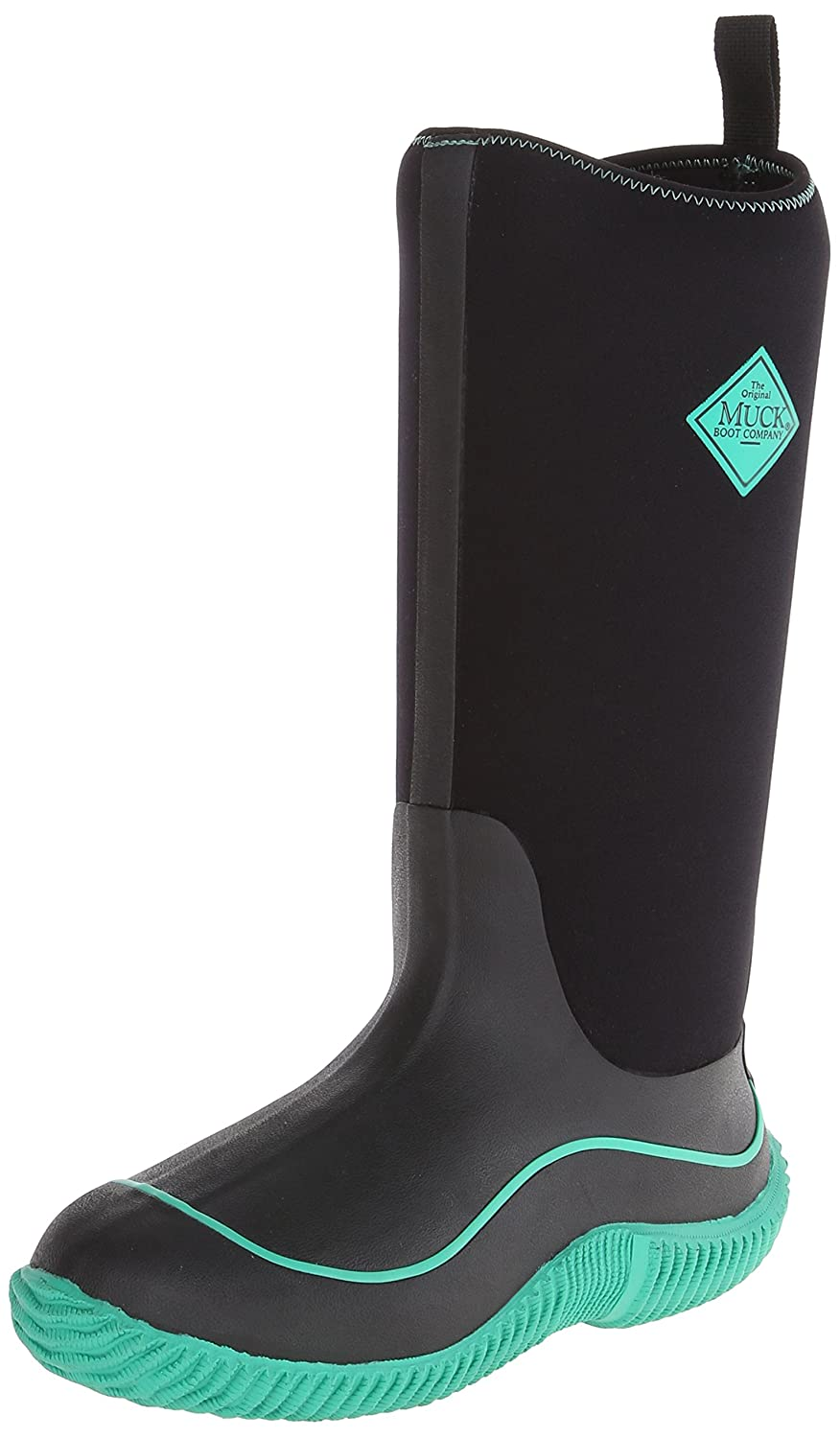 MuckBoots Women's Hale Plaid Boot B00IHW9Q08 5 B(M) US|Black/Jade