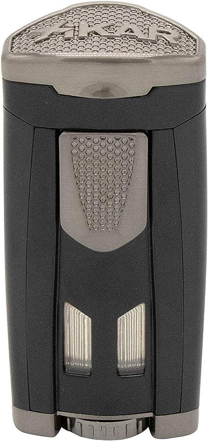 Xikar Turismo Double Jet Flame Cigar Lighter Matte Black