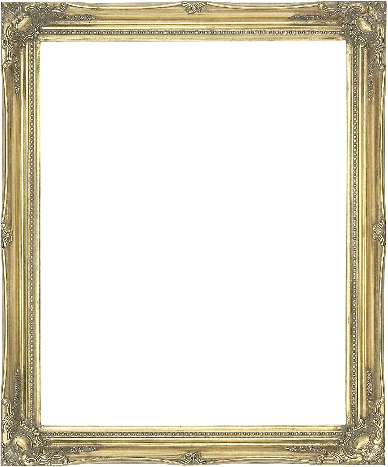 Antique Gold Shabby Chic Style Rectangular Wall Mirror Complete With Premium Quality Pilkington S Glass Size 28 Inches X 24 Inches 70cm X 60cm Amazon Co Uk Kitchen Home