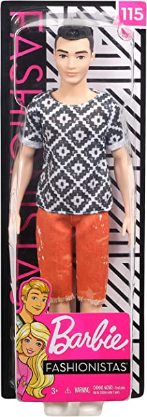 Barbie Ken Fashionistas Doll #115 Boho Hip Brand NEW in Box