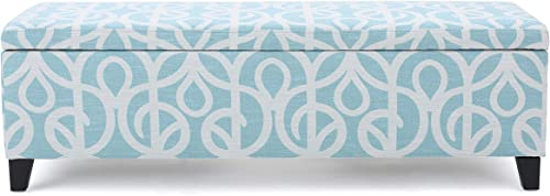 Christopher Knight Home Cleo Fabric Storage Ottoman