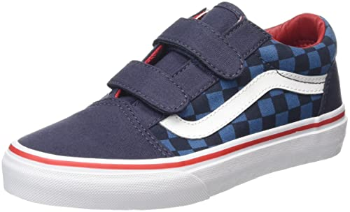 807b241f17 Vans Unisex Kids  Old Skool V Low-Top Sneakers