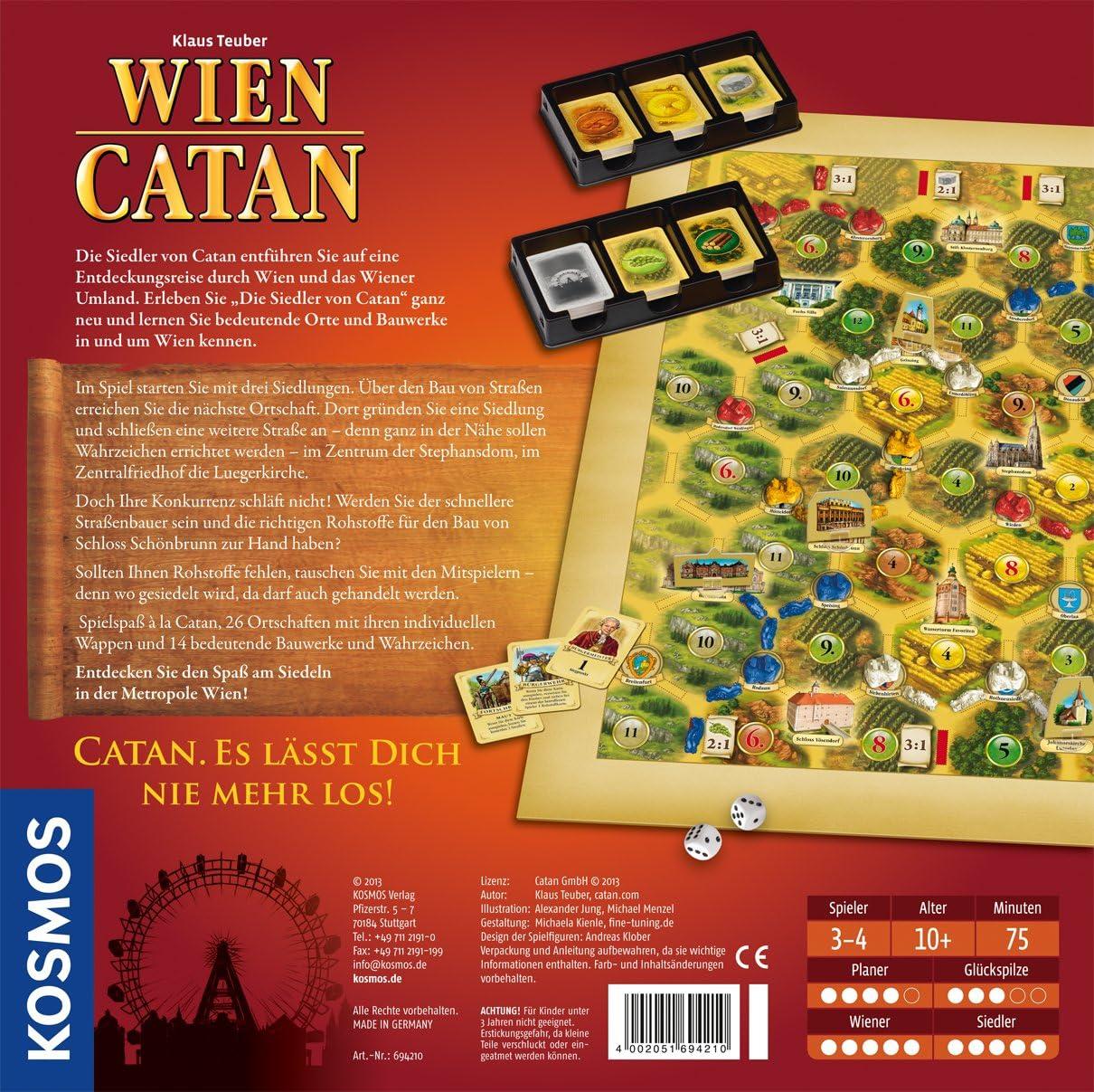 KOSMOS 69421 - Juego de Tablero (Multi, 30 cm, 7,6 cm, 30 cm): Amazon.es: Juguetes y juegos