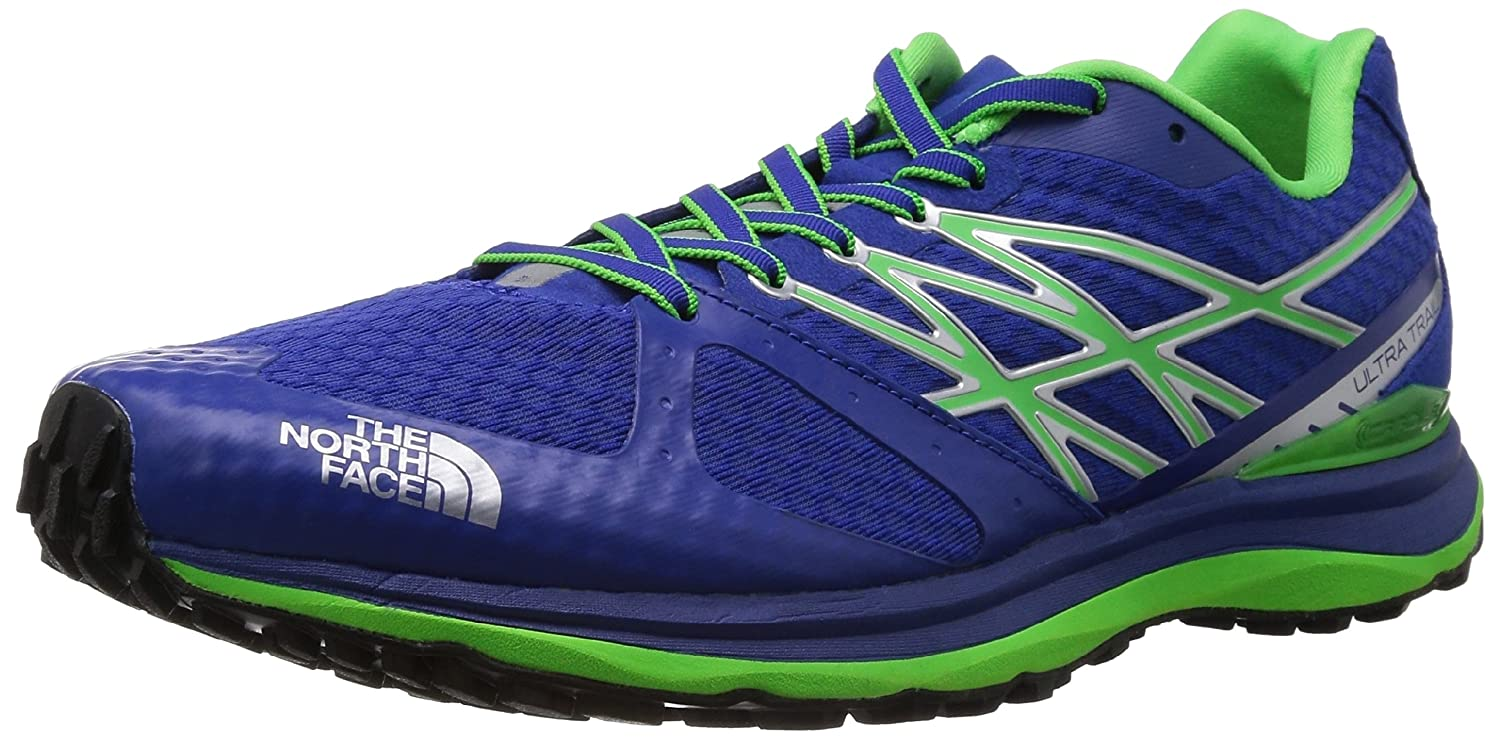 36b0bfba1 The North Face Ultra Trail Running Shoe - Men's Honor Blue/Power Green, 10.0