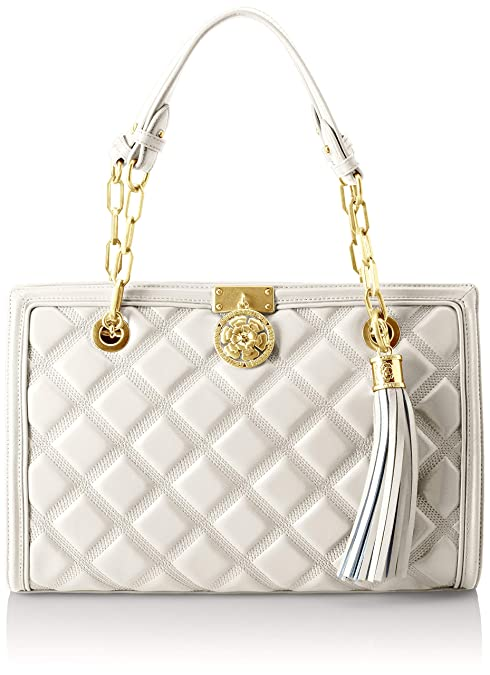 Guess BORSA A MANO VICKY PELLE: Amazon.it: Scarpe e borse