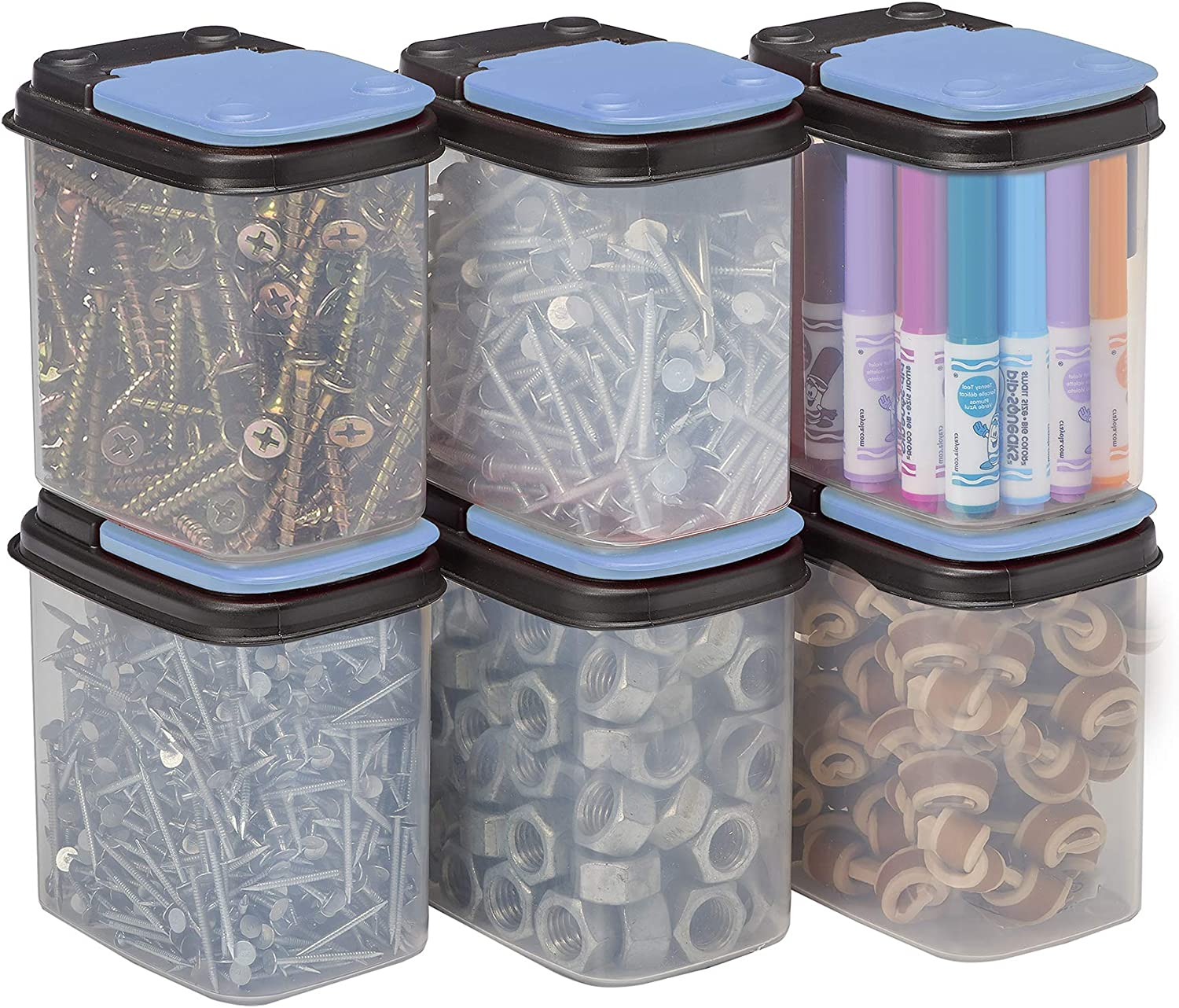 Buddeez Bits and Bolts Storage Containers