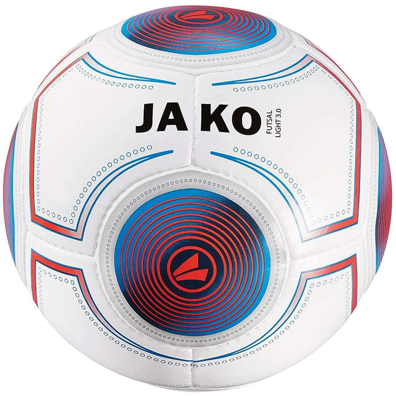 Jako Futsal Light 3.0 Indoor Balón, Todo el año, Color weiß/Blau ...