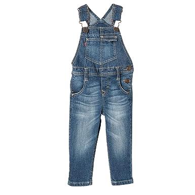 san francisco 0b021 e9337 Levi's Kids Latzhose – Kinderlatzhose aus robustem Denim ...
