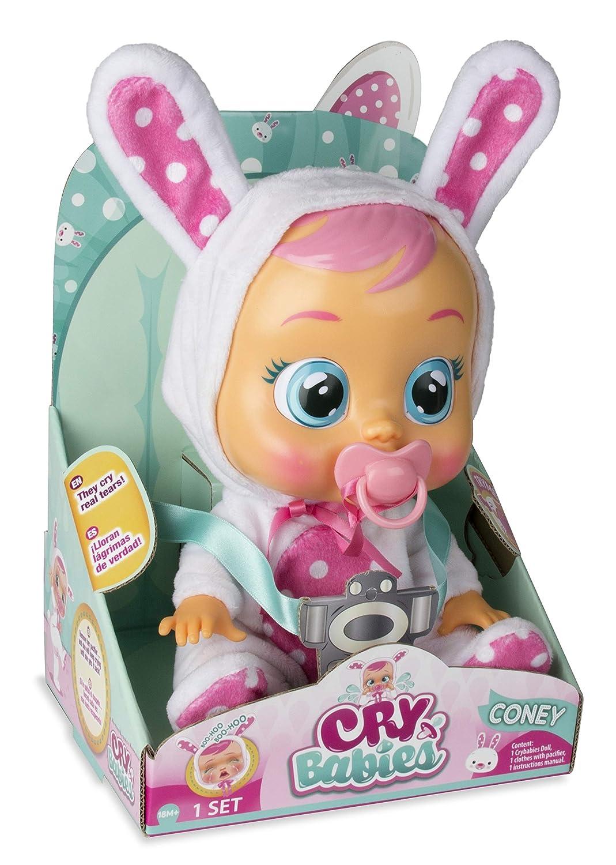 IMC Toys 10598 Coney - Muñeca Bebés Llorones, Multicolor