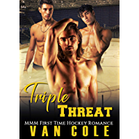Triple Threat: MMM First Time Hockey Romance (English Edition)