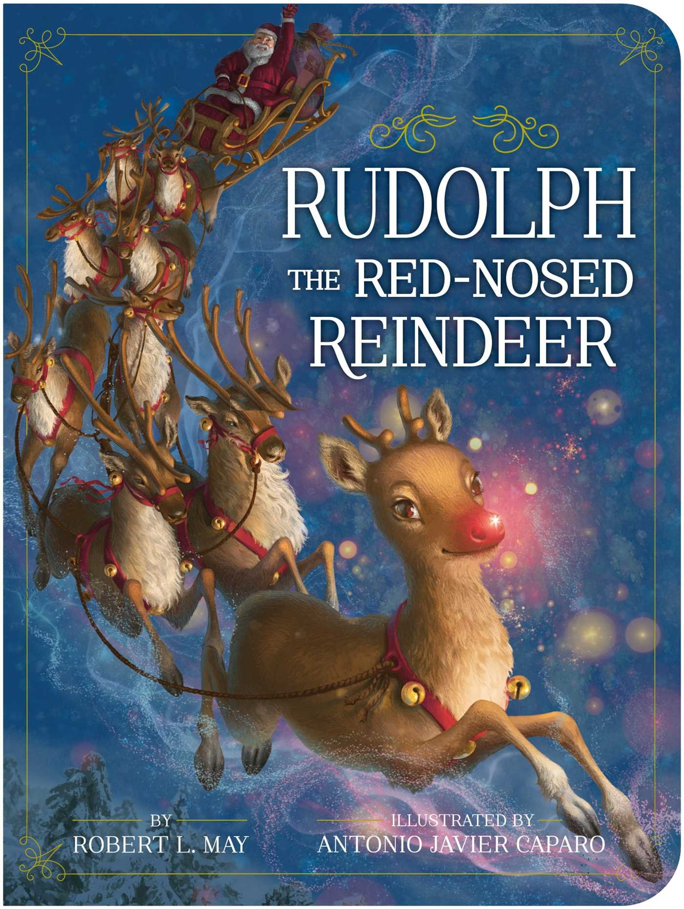 760c4055e74 Rudolph the Red-Nosed Reindeer (Classic Board Books) Board book – September  19