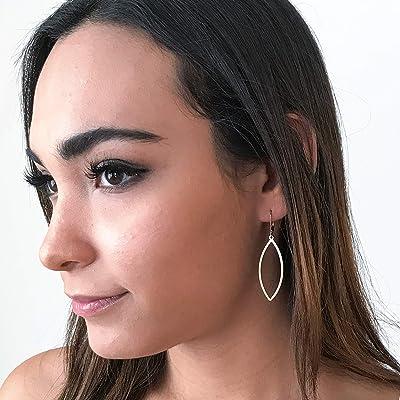 Lightweight Long Gold Drop Earrings - 14k Gold Filled