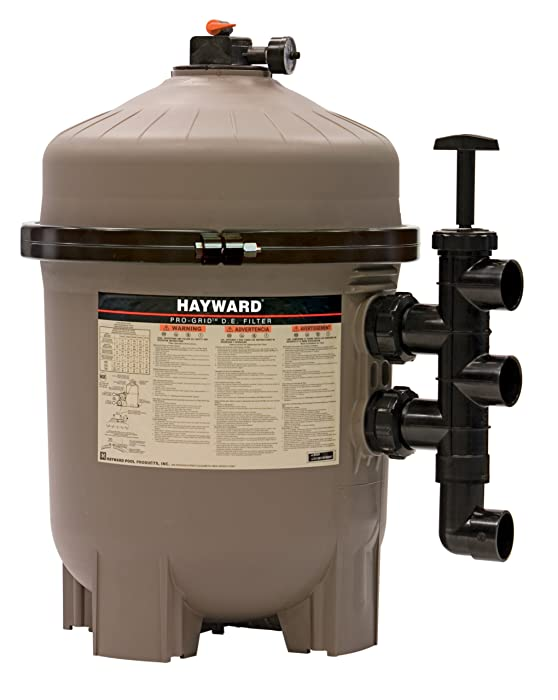 Hayward DE4820 Pro-Grid 48 Sq. Ft. Vertical DE Pool Filter
