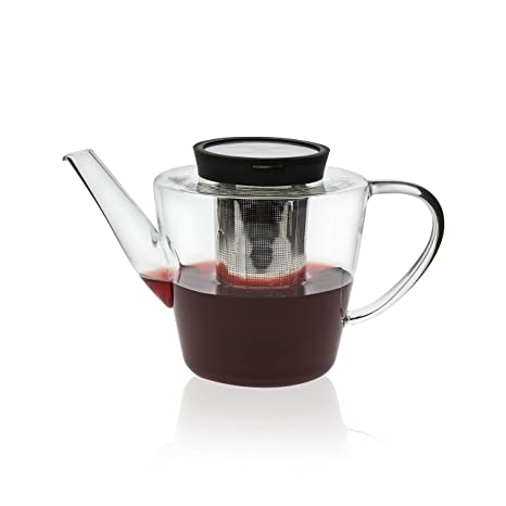 a2f624a2da Amazon.com | VIVA Scandinavia Glass Infusion Teapot, 39-ounce: Teapots