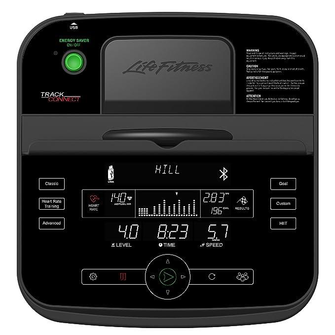 Life Fitness ergómetro C3 con Track Connect Consola Incluye Estera ...