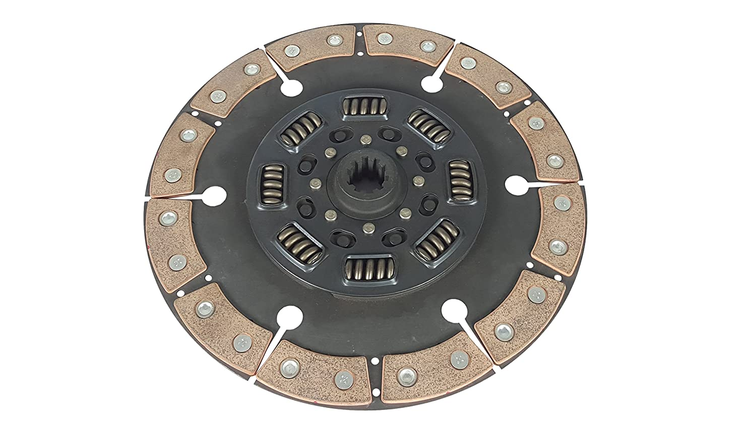 Clutch Kit Works With Ford F250 F350 F59 Base XL Lariat XLT Eddie Special 1994-1997 7.3L V8 DIESEL OHV Turbocharged Naturally Aspirated Only Solid Flywheel 6-Puck Clutch Disc Stage 4