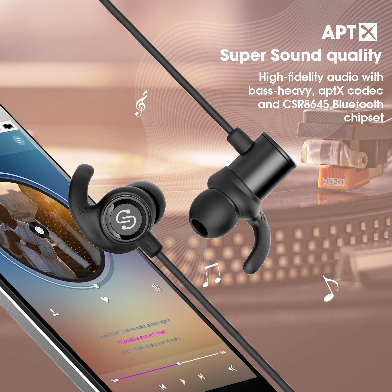Oferta auriculares bluetooth 4.1 magnéticos SoundPEATS por 13 euros (Cupón descuento) 1 auriculares bluetooth soundpeats