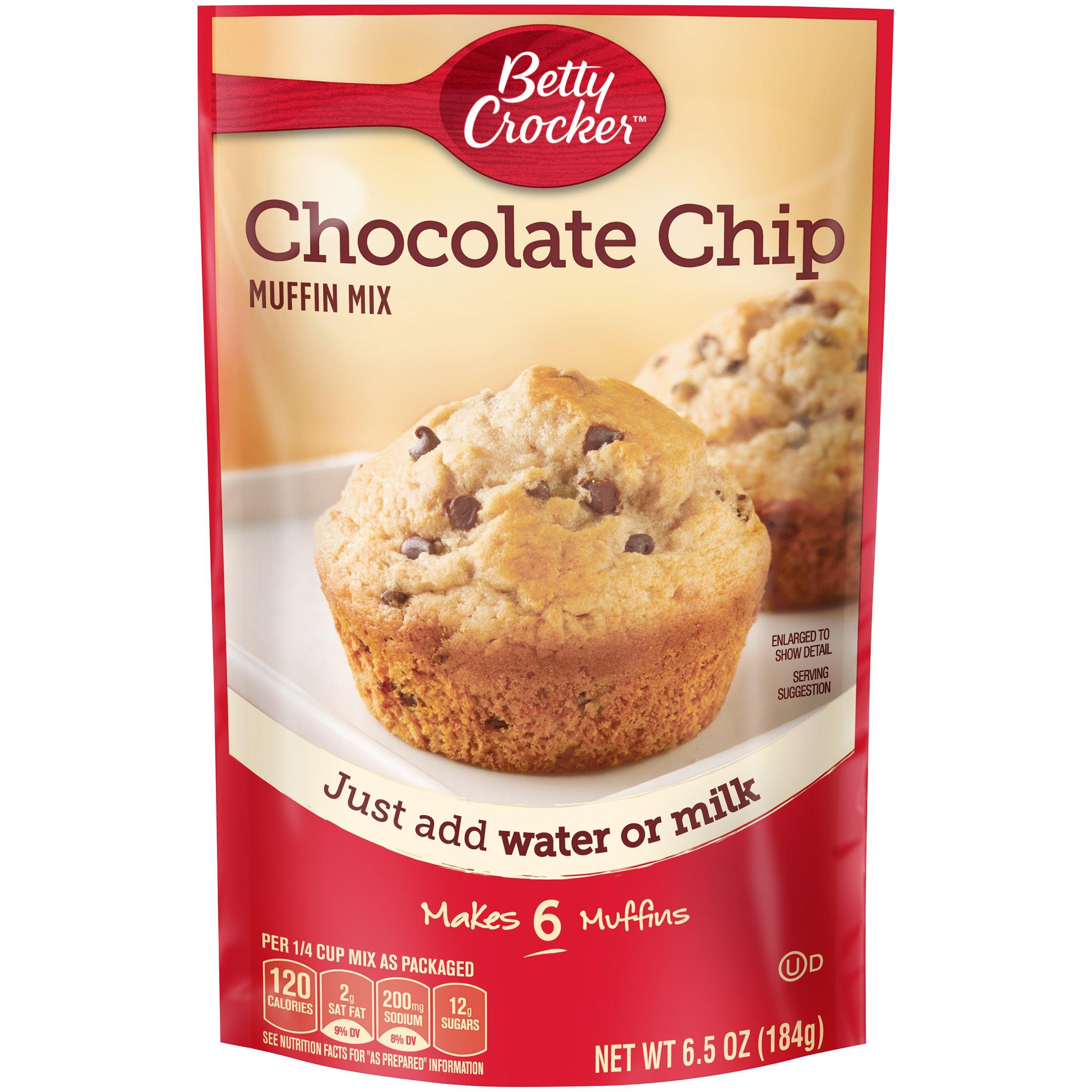 Betty Crocker Chocolate Chip Muffin Mix, 6.5 Ounce