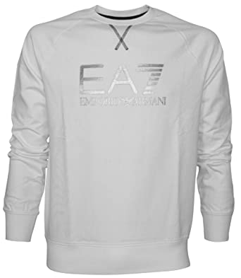 Sweat shirt EA7 Train visibility 275554 Blanc  Amazon.fr  Vêtements ... 000ee5faccf1
