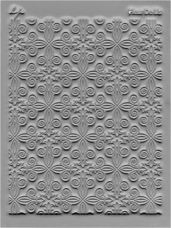 Great Create Tolle schaffen Gummi Lisa Pavelka einzelne Textur Stempel 10,8/cm x 14 Illusionary