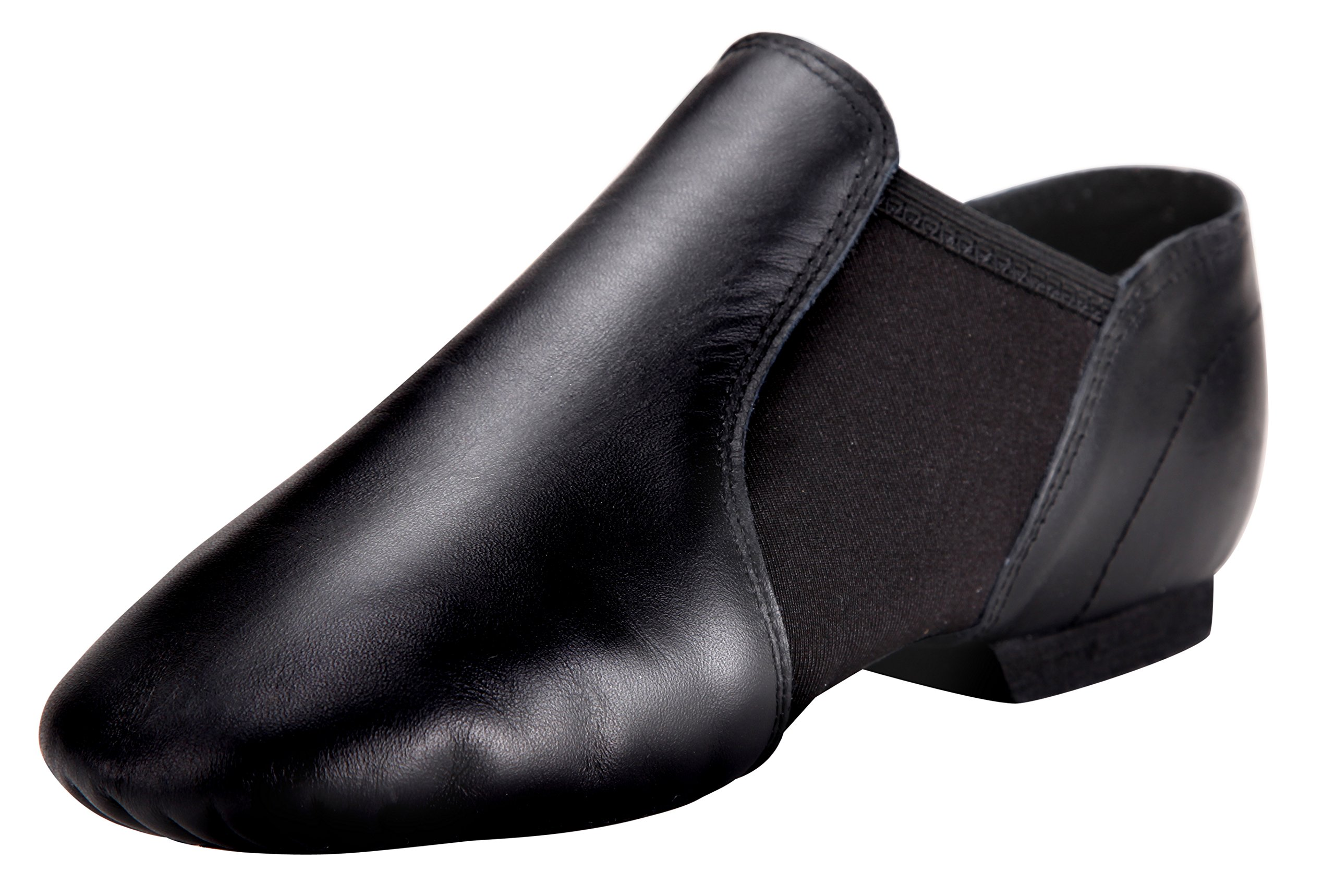 Tent Leather Jazz Shoe Slip On (Toddler/Little Kid/Big Kid)