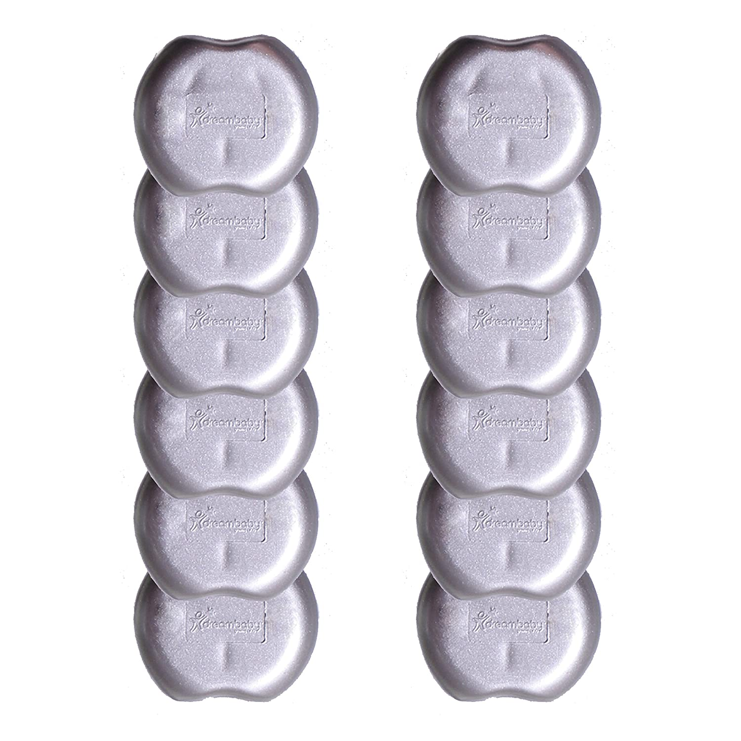 Dreambaby Outlet Plugs Silver 12 Count