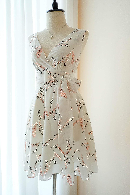 Amazon Com White Dress Floral White Bridesmaid Dress Floral Vintage