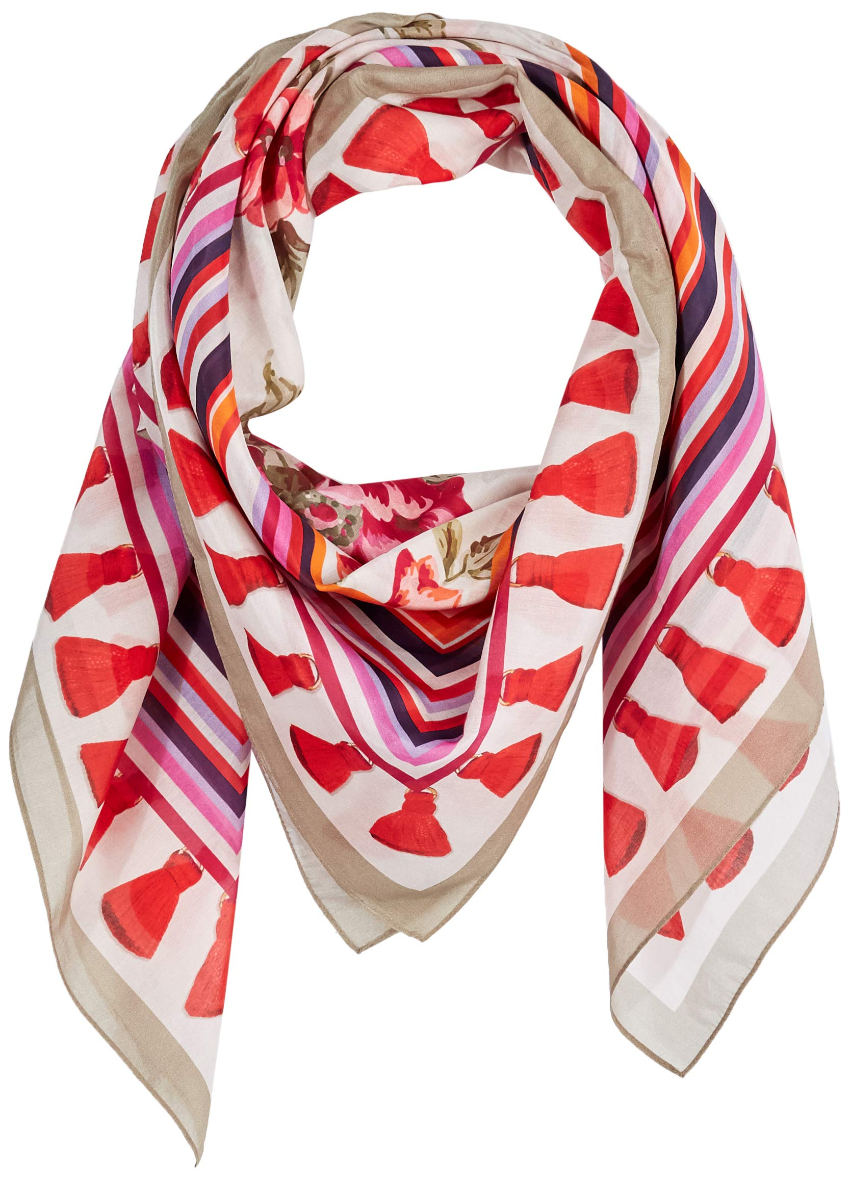 Lake Como SCARVES - Sanderson + Navy Nappino Scarves - Doll Pink by LAKE COMO SCARVES