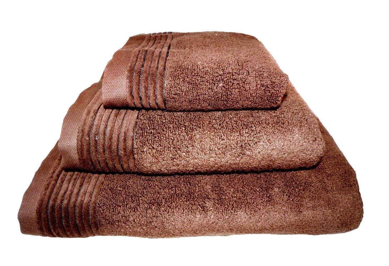 Home Juliet - Juego de 3 toallas para tocador, 33 x 50 cm, lavabo, 50 x 100 cm y baño, 100 x 150 cm, color grafito: Amazon.es: Hogar