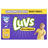 Amazon Price History for:Luvs Ultra Leakguards Diapers, Size 5, 140 Count