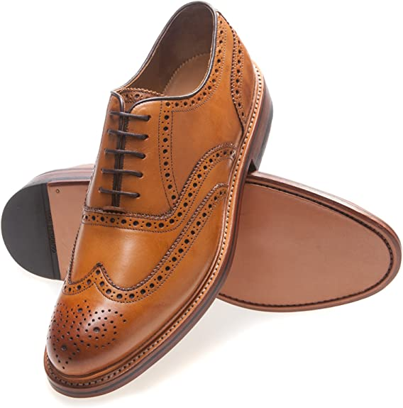 Gordon & Bros Levet - Zapatos de Cordones de Cuero para Hombre