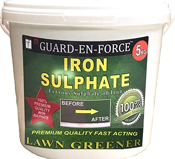 Tradefarmni Iron Sulphate Premium Soluble Fertiliser Moss Killer - Runner Up