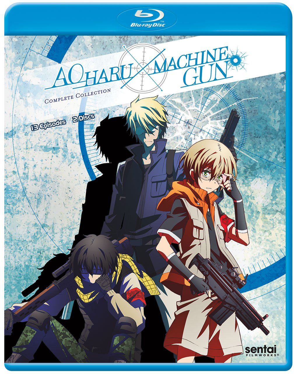 Aoharu x Machinegun Blu-ray (Dual Audio)