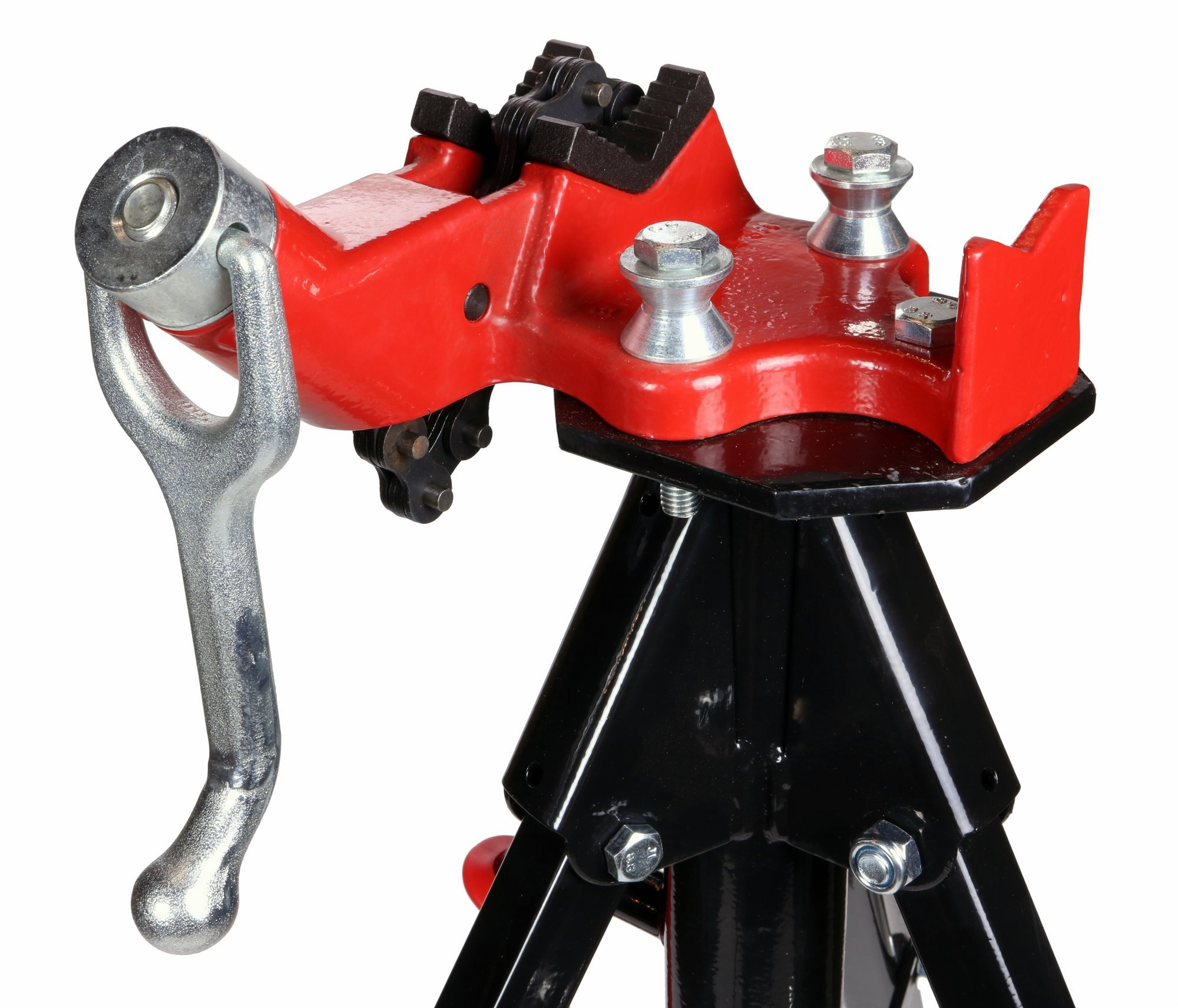 Toledo Pipe 425 Stand Portable Tripod Chain Vise works with RIDGID 12R 700 Pipe Threader by Toledo Pipe Tools (Image #3)